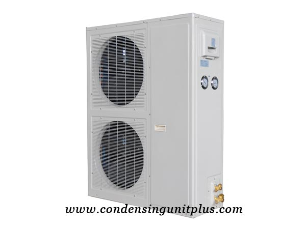 Double Fan Horizontal Outdoor Condensing Unit Price