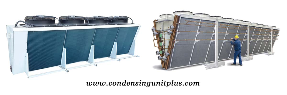 High Performance FNV Series ACC Air Cooled Condenser for Cold Room
