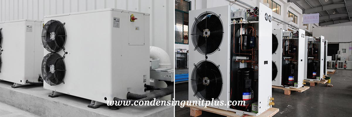 High Quality Horizontal Outdoor Condensing Unit