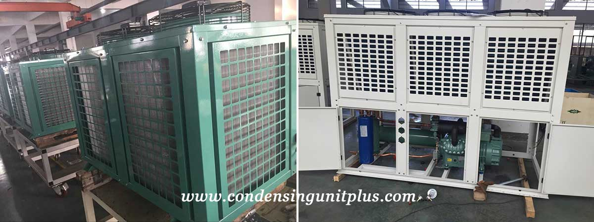 High Quality Vertical Outdoor Air Cooled Condensing Unit Production