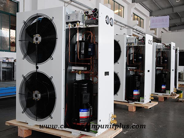 Horizontal Outdoor Condensing Unit for Sale