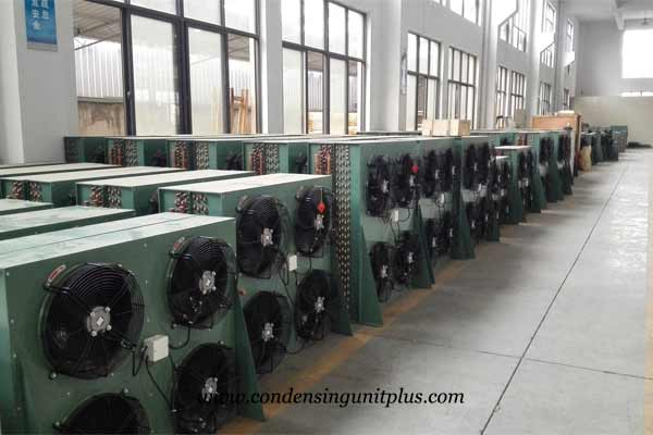 unit cooler workshop for cold room in onlykem factory