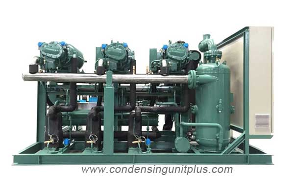 Bitzer screw compressors condensing unit