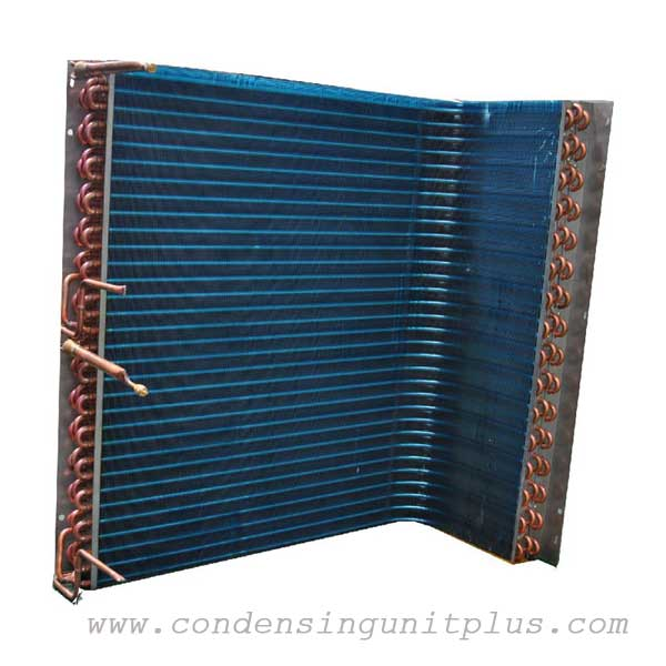 L type air cooled condenser