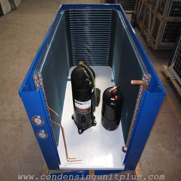 U type air cooled condenser