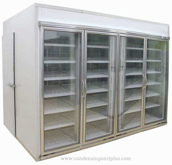 walk in cooler for supermarket